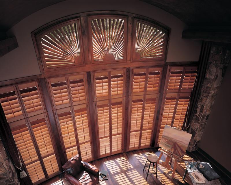 Heritance Hardwood Shutters BlindQuest Troy IL